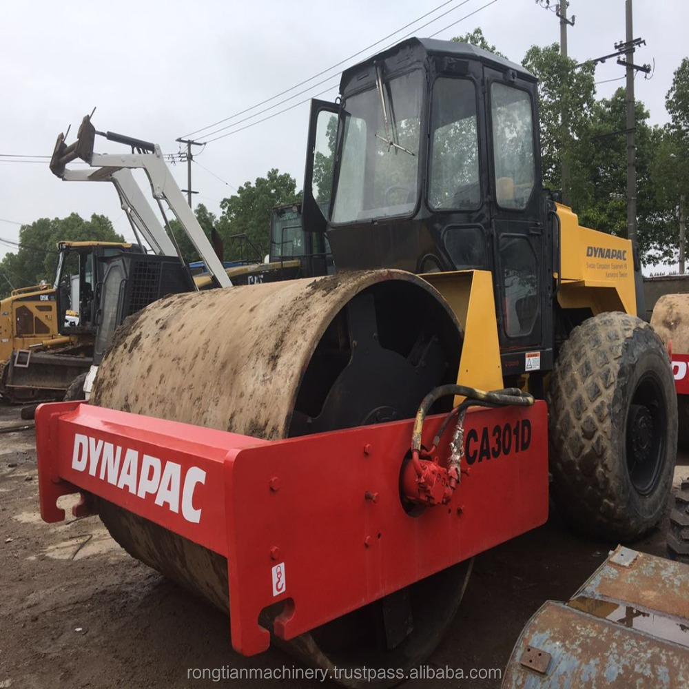 Good quality used road roller ca30d dynapac for asphalt roads