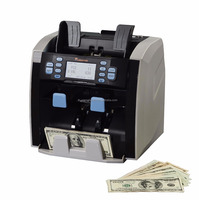 USA CR1500 Mixed Bill Value Currency cash Counter, bank counting machine