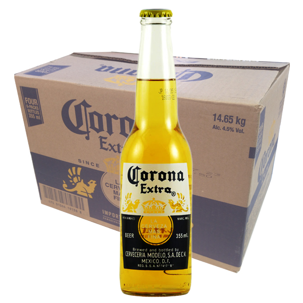 Corona Extra Beer 24bottles x 355ml