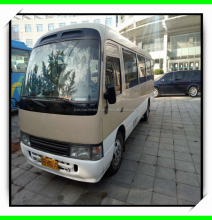 23 seats 2012 year Used TOYOTA coaster bus high quality bus with cheap price for sale
