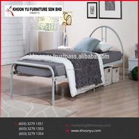 2017 Super Hot Sell Metal Single Bedroom Furniture Latest Picture of Single bed