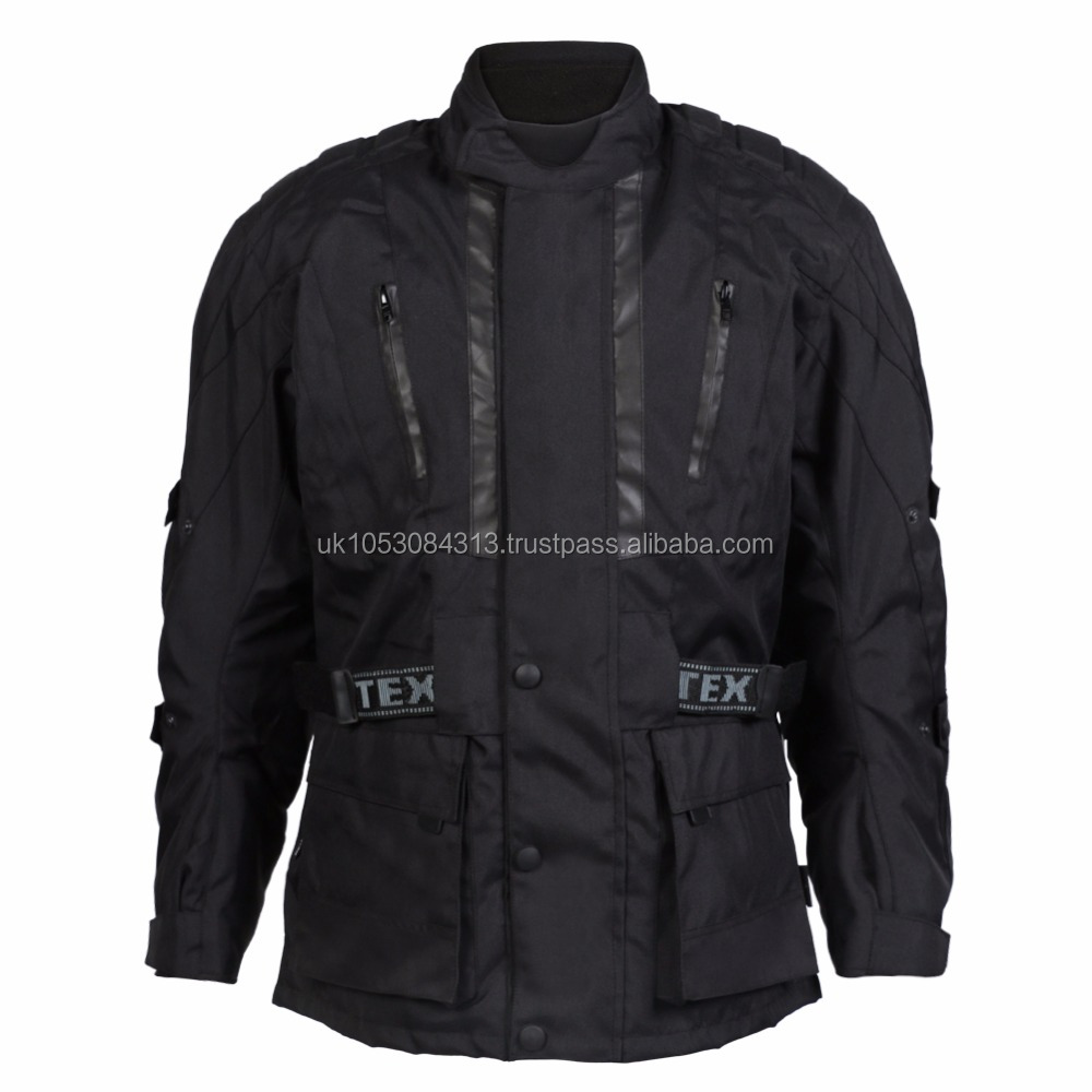 All Black Armoured Cordura Jacket