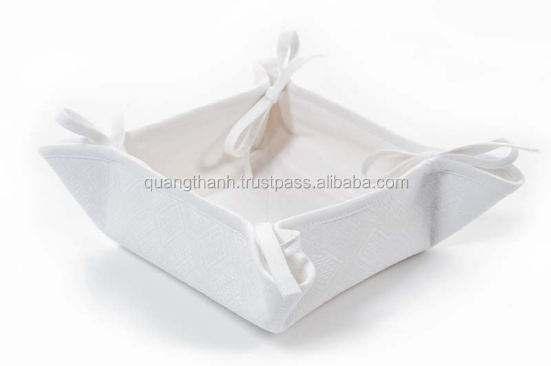 linen bread basket