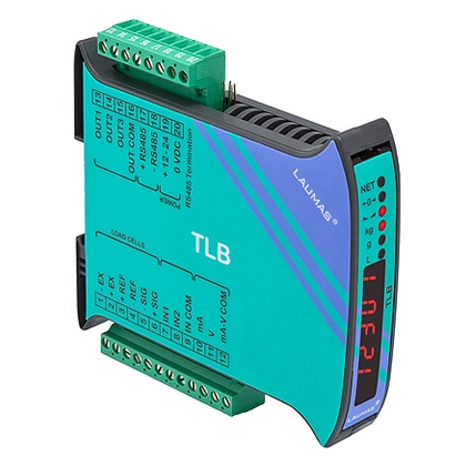 TLB DIGITAL-ANALOG WEIGHT TRANSMITTER (RS485 + ANALOG OUTPUT)