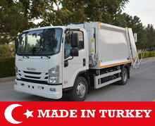 8 m3 ISUZU NPR 10 Rear Loaded Garbage Truck