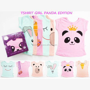 Baby Tshirt Panda Edition Baby Clothes for Baby Girl | Kazel