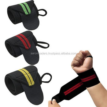 Weight Lifting Wrist Support Body Building Gym Training Straps THUMB