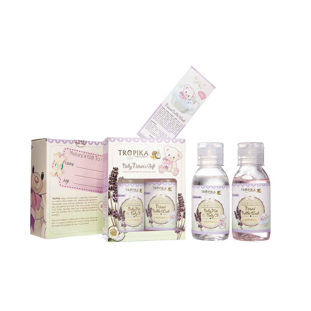 Starter Kit Oil and Wash Baby Care Product
