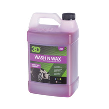 3D Wash N Wax Concentrated All-In-One Car Wash Shampoo 3.79 lt. 201G01