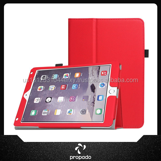 US Supplier Universal Leather Tablet Smart Stand Case Cover For iPad Air 2
