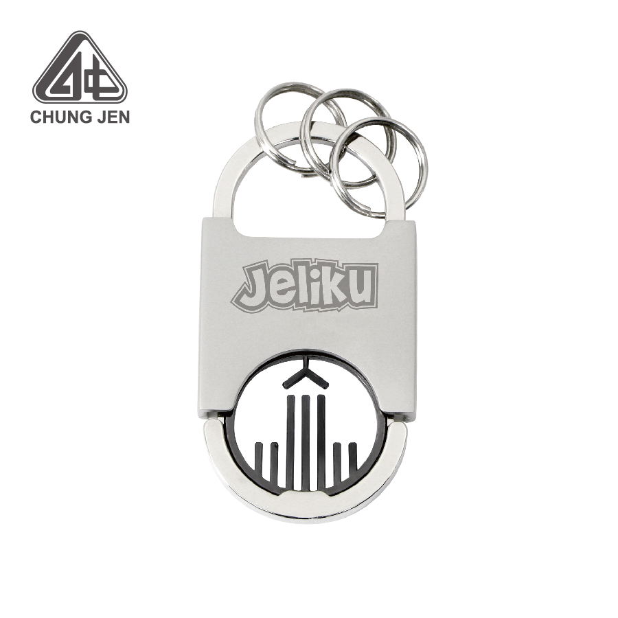 Advertising Customized Coin Keychain with Logo