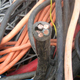 Insulated copper cable wire scrap for sale