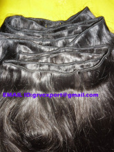 Wholesale Best quality Virgin indian Remy Machine weft Single Drawn Human Hair Loose curly