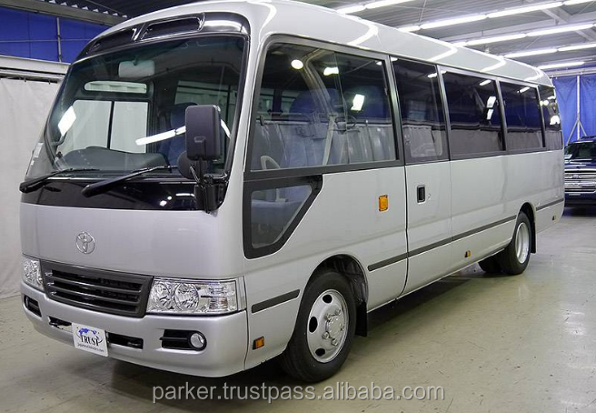 2013 TOYOTA COASTER BUS RHD
