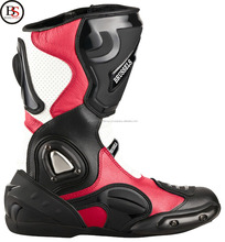 Motorcycle Boots Racing Boots XLS Black Red White Size 40-47