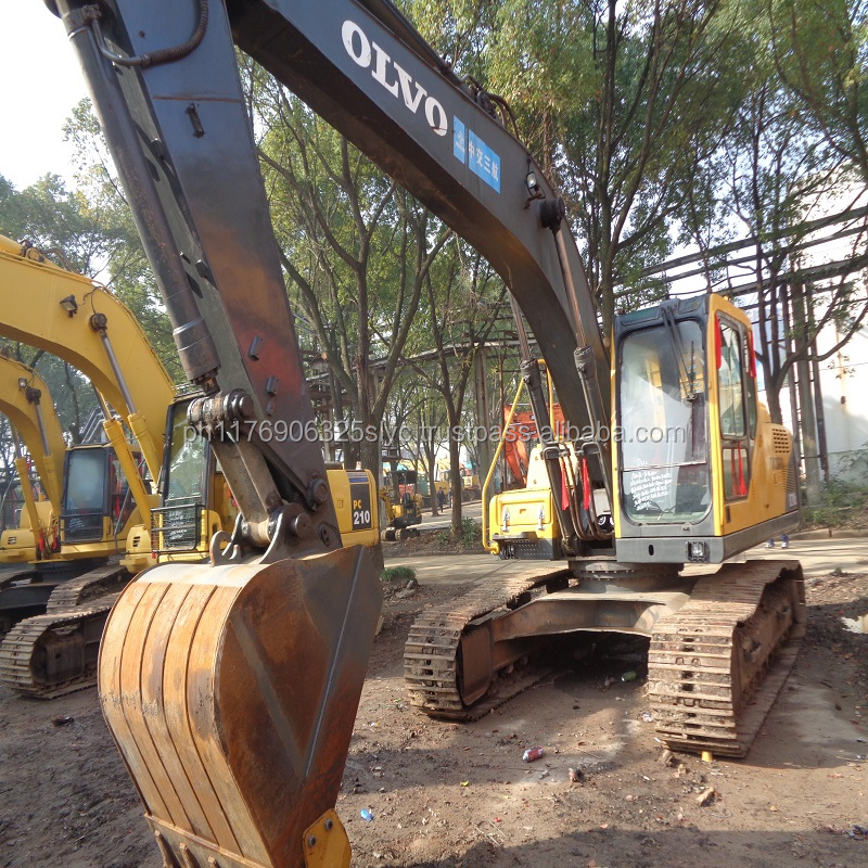 2013 Year Manufacture 21 Ton EC210BLC Used Volvo Excavator For Sale Korea