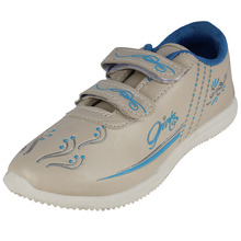 Sporter Canvas Women Grey-173 Sports Running Shoes