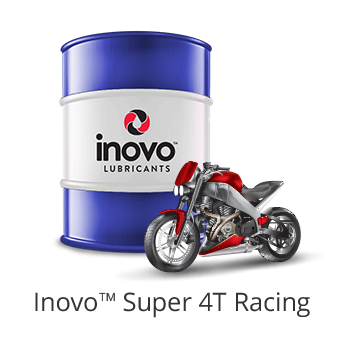 INOVO Super 4T Racing / Provide optimum acceleration and horsepower for high-speed, high-revving motorcycles