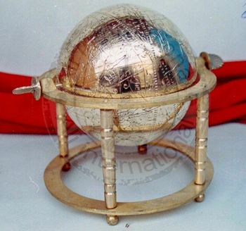 WORLD GLOBE FULL BRASS UNIQUE DESIGN