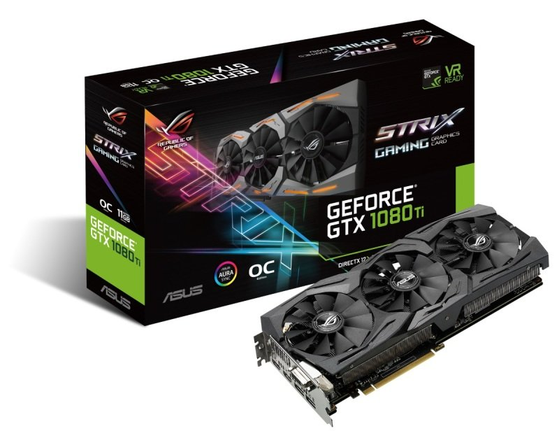 EVGA GeForce GTX 1080 Ti FOUNDERS EDITION GAMING, 11GB GDDR5X, LED, DX12 OSD Support