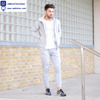 Mens Custom Made Sports Running Wear, Grey Tracksuits and Jogging wear From Bangladesh