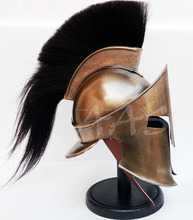 Medieval Armour Viking Mask KING LEONIDAS GREEK SPARTAN 300 Roman HELMET CHMH30028
