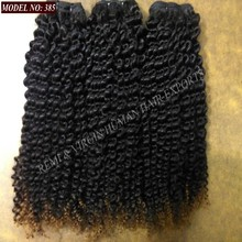 Raw Indian Jerry Curly Hair Weave Wholesale Unprocessed 100 Percent Virgin Human Hair Extension Bundle Natural Color