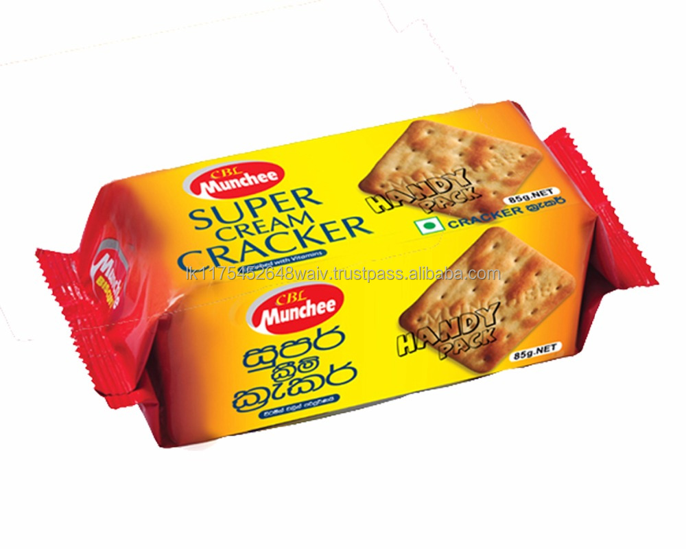 Cream Crackers High Quality Sugar Free No Artificial Flavours or Colours