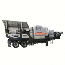 2019 most sold construction waste mobile crusher plant for usa