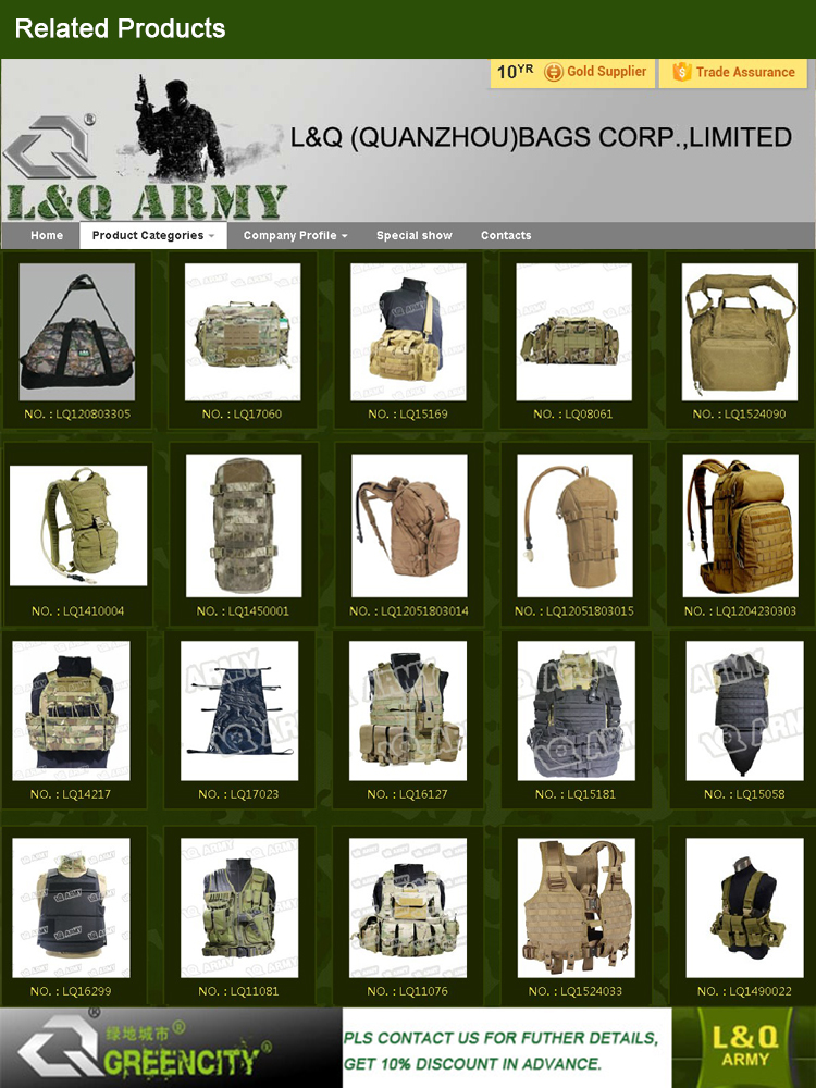 LQ ARMY Tactical Bag Range Bag Large Carry Duty Bag for Law Enforcement