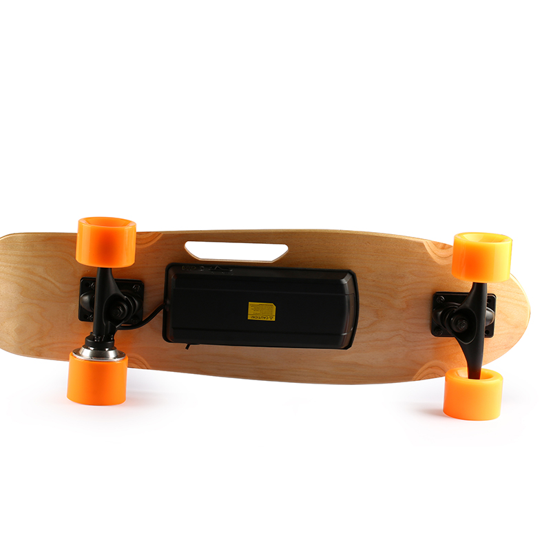 Mini Fish Sakteboard 150W Motor PU High Elastic Wheel Electric Skateboard