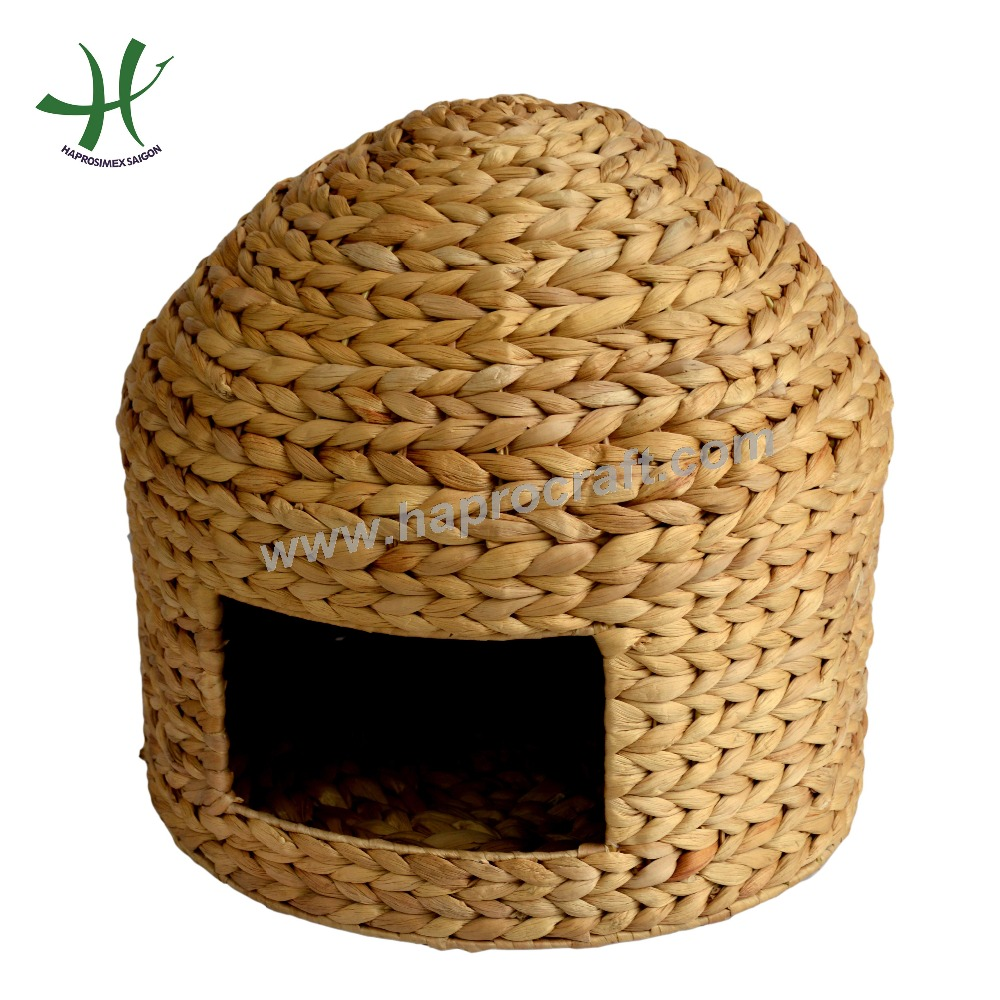 Cage & Carrier & House Pet Cage, Wicker Pet House