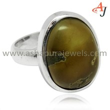 Admirable Brown Turquoise Gemstone 925 Sterling Silver Fancy Ring, Wholesale Silver Jewelry, Fashion Silver Jewelry