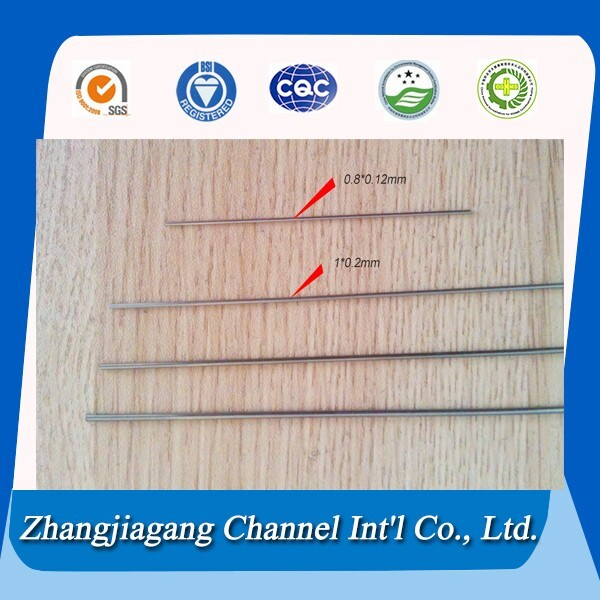 gold supplier High precision stainless steel capillary tube