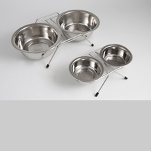 Stainless Steel double diners Bowls Set