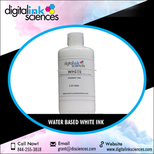 White Low Viscosity Textile Water Based DTG Ink