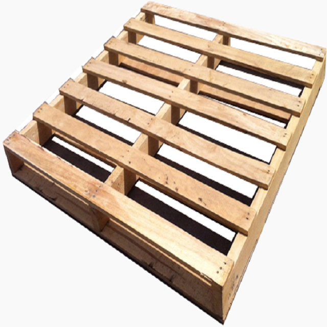 Heavy duty single faced non wood plastic pallet