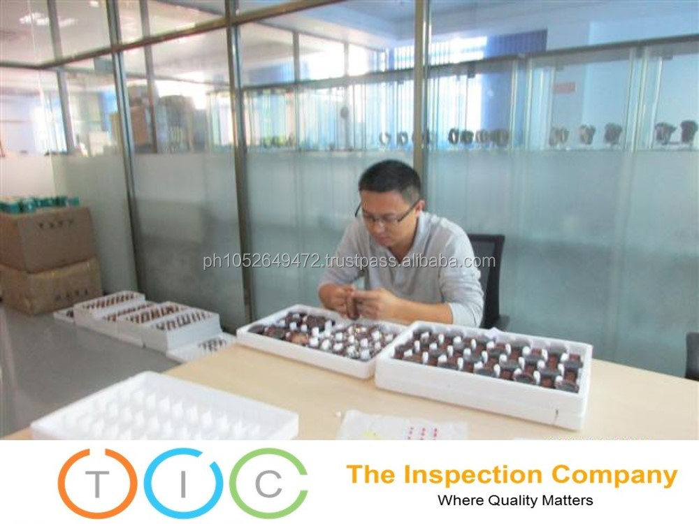 Pre Shipment Inspection for Watches in China