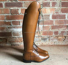 Leather Long Riding Boots / Horse Riding shoes for Men's Women