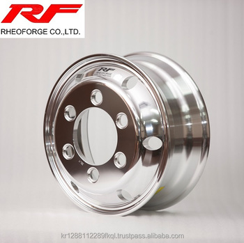 17.5*6.00 Forged Aluminum Truck and Bus Alloy Wheel 17.5x6.00 machine polish