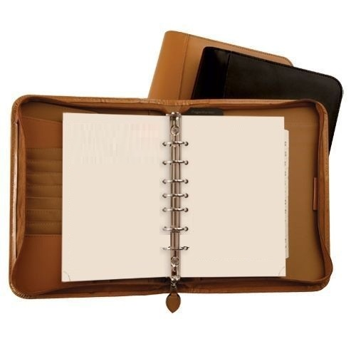 New style leather diary monthly calendar planner
