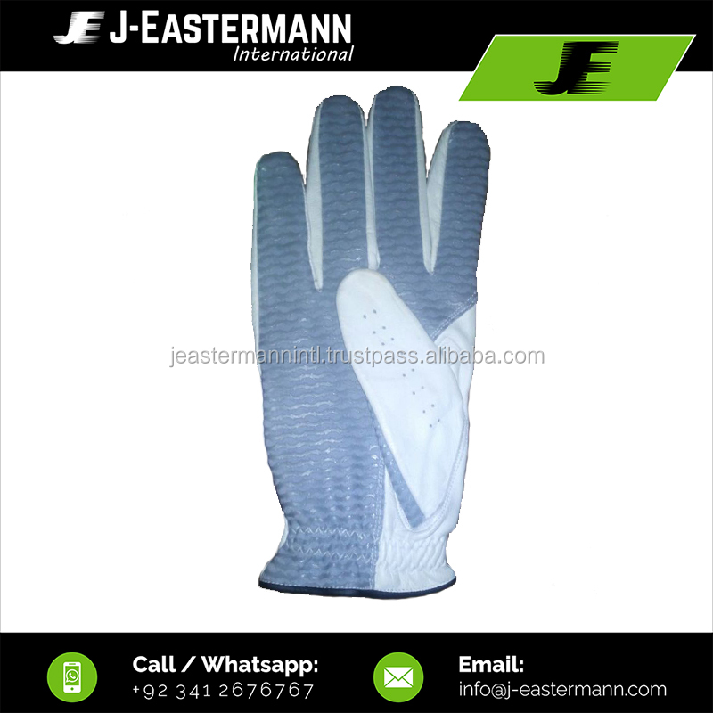 Silicon Printed Palm Artificial Leather Golf Gloves, Left Hand Golf Gloves, Right Hand Golf Gloves