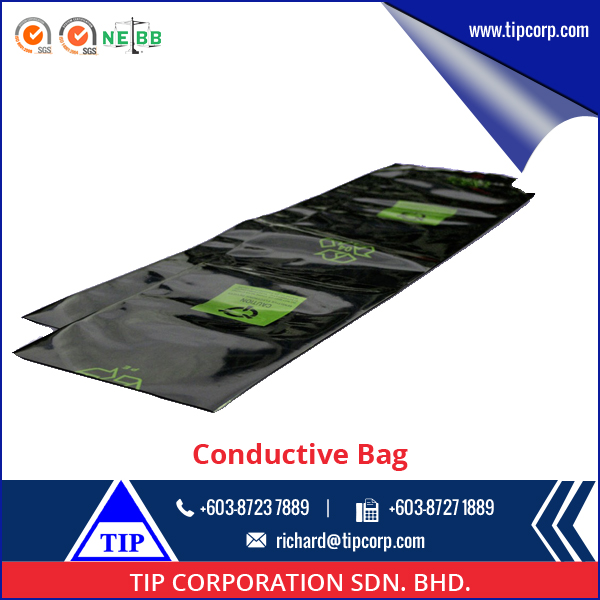 Bulk Black ESD Conductive PE Bag