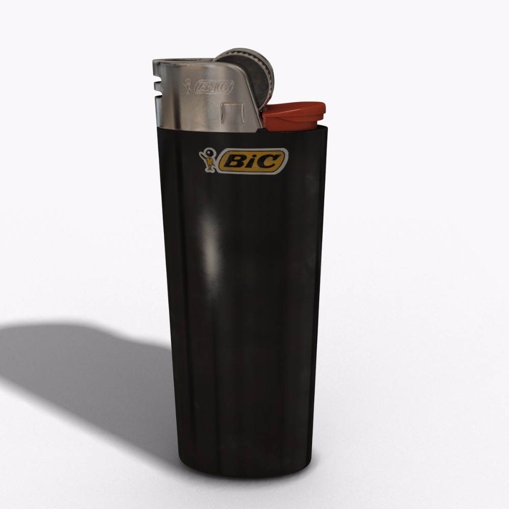Disposable custom bic lighters J26