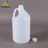 1 gallon HDPE blow molding plastic bottle with screw lid