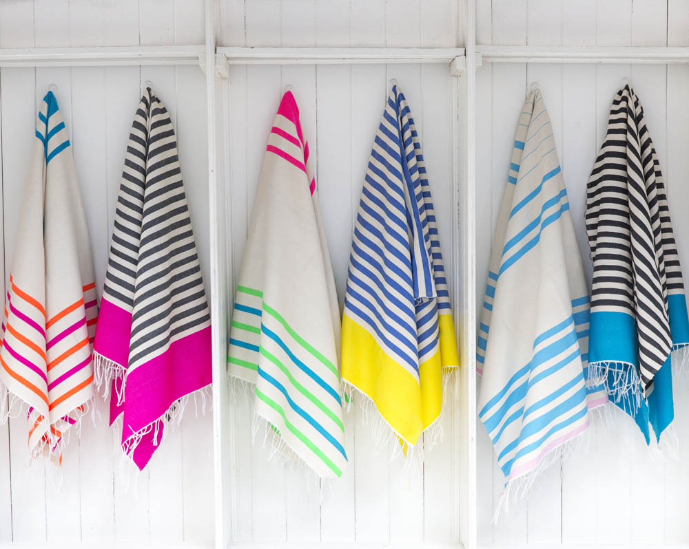 Beach Towel Women Cotton Tassel Turkish