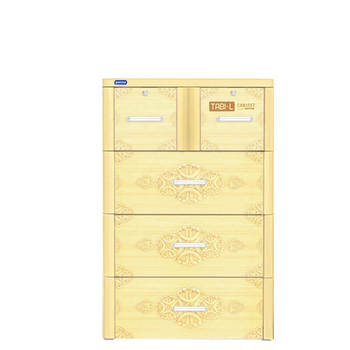 Plastic drawer/ cabinet plastic drawers/TABI-L CABINET - 4 DRAWERS - Duytan in Vietnam