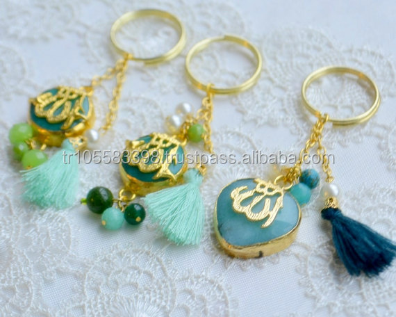 Islamic design key chains
