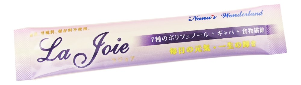 La Joie: Polyphenols for Relief of Pre-menstrual / Post-menstrual Pain, Body Warming Effect, Elimination of Edema