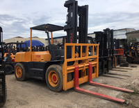 Good quality used 10 ton TCM forklift FD100 for sale/ TCM forklift with low price